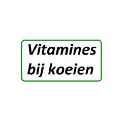 Vitamines bij koeien