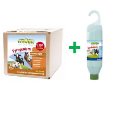 ACTIE Ecostyle Pyrogenium 6-pack + UierBalsem 500ml