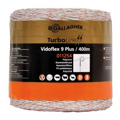 Gallagher Vidoflex Turboline 9 wit 400m