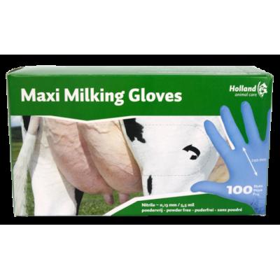 Maxi milking gloves XL 9-10 (100 stuks)