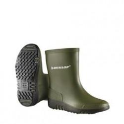 Dunlop mini laars groen (maat 22-30)