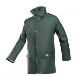 Flexothane jas groen