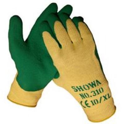 Werkhandschoen Showa 310 Grip Green maat 9/L