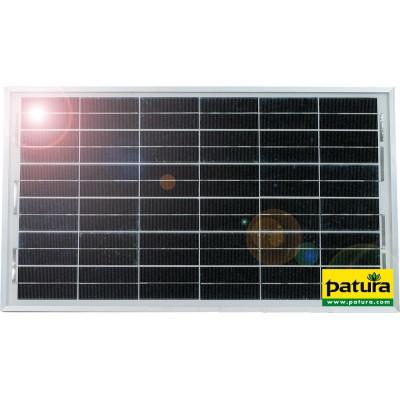 Patura Zonnepaneelmodule 25W inclusief universele houder voor P2500