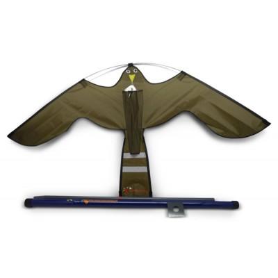 Hawk Kite 7m met paal en grondanker