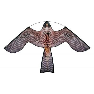 Reserve Vlieger Hawk Kite met roofvogelprint