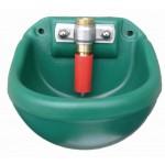 Dubbelwandige ventieldrinkbak (wandmontage) (2L)