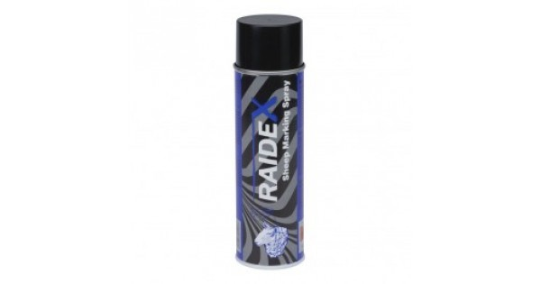 Merkspray Raidex schapen 500ml blauw
