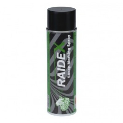 Merkspray Raidex schapen 500ml groen