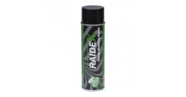 Merkspray Raidex schapen 500ml groen
