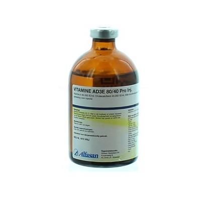 Vitamine AD3 80/40 injectie (100 ml)